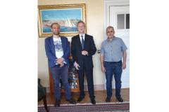 Visite á l'Ambassade de représenatants de l'Association des algériens de Kiel 24.06.2019